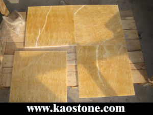 Yellow Honey Onyx for Flooring Tiles pictures & photos