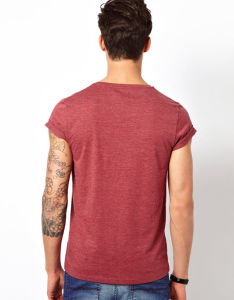 OEM 100% Cotton Round Neck T Shirts for Men pictures & photos