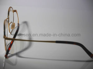 2016 Latest Desgine Round Full Rim Antique Eyeglass Optical Frames pictures & photos