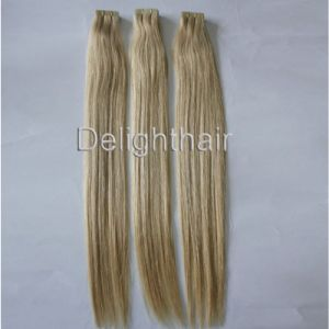 Wholesale Human Hair Tape Hair Extension Nhte-014