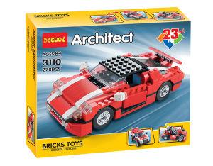 Children Plastic Super Racing Car 23 in 1 Blocks Toy pictures & photos