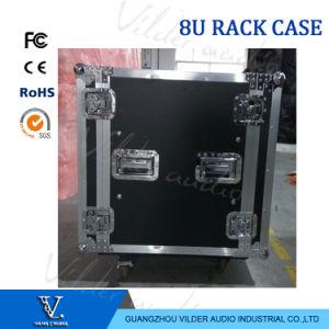 8u Amplifier Rack Case Line Array Flycase pictures & photos