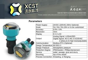LCD Ultrasonic Level Transmitter 10m pictures & photos