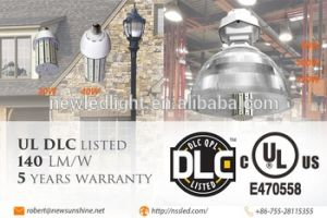 3900lm 5 Year Warranty 24V UL Dlc Ce RoHS 50000hours E26 E27 120W Metal Halide Lamp Replacement 30W LED Street Light pictures & photos