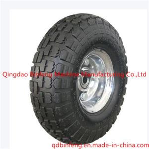 Pneumatic Wheelbarrow Tyre/Wheelbarrow Rubber Wheel (4.00-8 3.50-8)