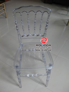Clear Resin Napoleon Chair pictures & photos