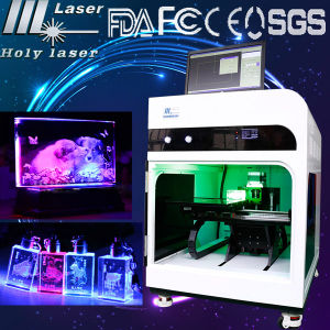 Crystal Glass Laser Engraving Marking Burning Machine for Metal Plastic, Crystal Glass pictures & photos