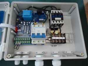 Special Designed Single Phase Pump Control Panel for Installing Start Capacitor and Runing Capacitor pictures & photos