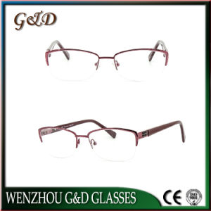 2016 Latest Design Eyeglasses Eyewear Optical Metal Frame pictures & photos