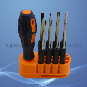 9 Pieces in 1 Cr-V Mutil-Use Screwdriver Set pictures & photos