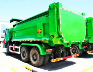 HOWO 336HP 10 Wheels U-Type Dump Truck for Construction pictures & photos
