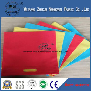 Dyed Colorful Spun-Bond Polypropylene PP Non-Woven Fabric Used for Shopping Bag