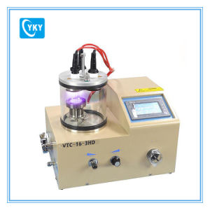 3 Rotary Target Plasma Sputtering Coater with Substrate Heater (500 º C) Including 3 Targets Vtc-16-3HD pictures & photos