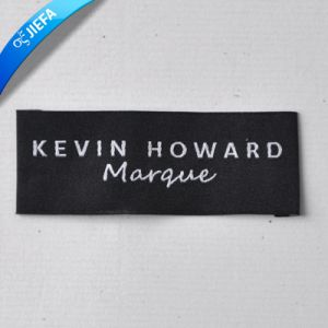 New Fashion Eco-Friendly Produce Rectangle Garment Woven Label pictures & photos
