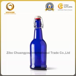 Best Quality 16oz blue Beer Glass Bottle with Swing Top (359) pictures & photos
