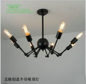 Creative Spider Pendant Lamp Chandelier with Bulb (GD-0305-8) pictures & photos
