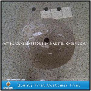 G682 Yellow Granite Countertops, Vanitytops, Bathroom Tops, , Kitchen Tops pictures & photos