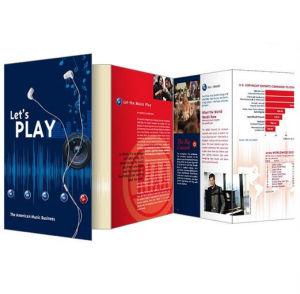 Full Color Cheaper Brochure Printing (jhy-843) pictures & photos