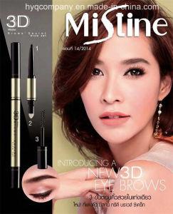 Thailand Three-in Rotating Set Mistine 3D Eyebrow Pencil Eyebrow Dye Cream pictures & photos