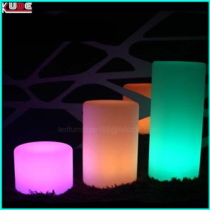 Festival Decoration LED Pillar Lighting Lamp Restaurant Table Lamps Wedding Decor pictures & photos