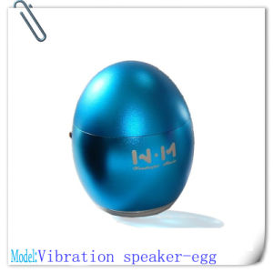 Colorful Egg Style Vibration Speaker