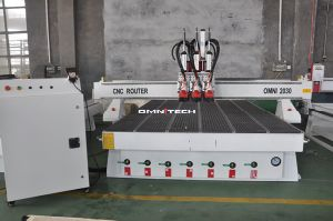 4 Spindle Wood Working Machine CNC Router for Cabinet pictures & photos