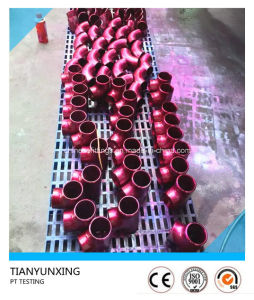 ASME B16.9 PT Testing Seamless Stainless Steel Pipe Fittings pictures & photos