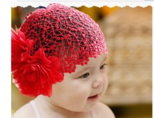 3 Colors Children Korean Double Flowers Headhand, Latest Fashion Baby Hair Accessories