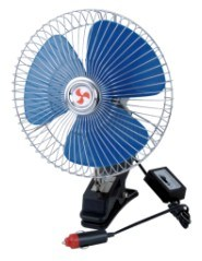 "DC12V 8"" 60 Strips Semi-Seal Osclillating Car Fan (WIN-113) pictures & photos"