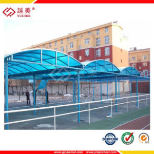 Curved Roof Carport with Polycarbonate Sheeting pictures & photos