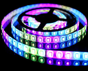 Hot Sales Non-Waterproof SMD 5050 RGB LED Strip Tape Light pictures & photos