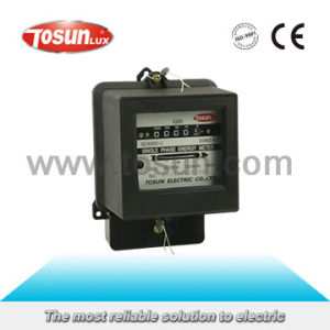 Dd862 Single Phase Energy Meter pictures & photos