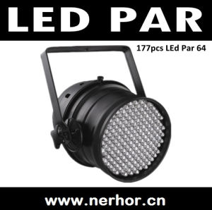 LED PAR 64 Can with 177PCS 10mm RGB LEDs / DMX DJ Stage PAR Light (NE-112)