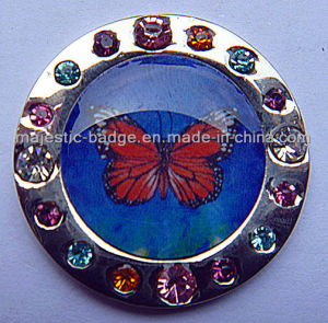 Butterfly Sign Marker (MJ-Golfball Marker-048) pictures & photos