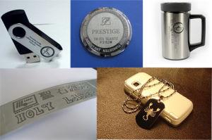 Surface Engraving Machine Fiber Laser Photo Logo Printing Machine pictures & photos