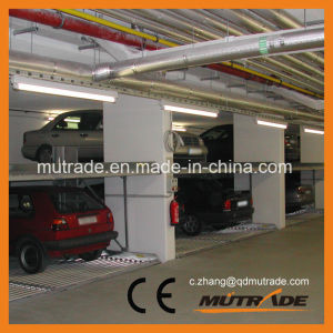 Mutrade Parking Ptpp Series Car Stacker Basement Two Vechiles Car Parking System pictures & photos