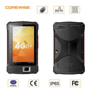 IP65 Industrial Tablet PC with Fingerprinter Sensor Reader 2D Barcode Scanner and RFID Reader pictures & photos
