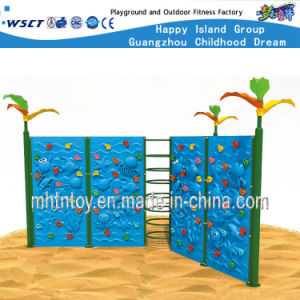 Ocean Theme Plastic Wall for Climbing Playground Series Hf-19004 pictures & photos