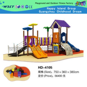 Hot Selling Grow Happy Series Outdoor Playground for Children (HD-4105) pictures & photos