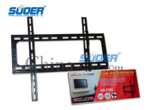"Suoer Factory Price TV Mounting Bracket 37"" to 70 TV Wall Mount Base Strengthen TV Bracket LCD-3770A (Red Box-Base Strengthen) pictures & photos"
