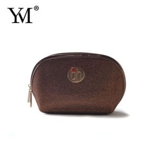 Beauty Shopping Fashion Brand PU Leather Cosmetic Bag for Woman pictures & photos