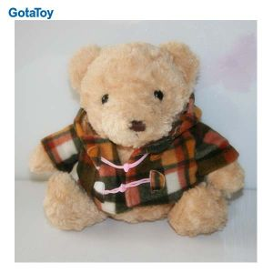 High Quality Custom Plush Teddy Bear with Trench Coat Stuffed Soft Toy pictures & photos