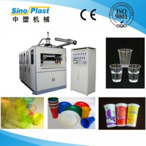 Plastic Disposable Thermoforming Machine for Lid and Tray