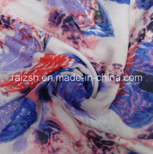 Polyester Printed Chiffon Imitation Silk Fabric pictures & photos