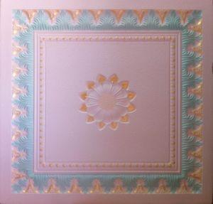 Colorful Gypsum Board Artistic Ceiling-S018