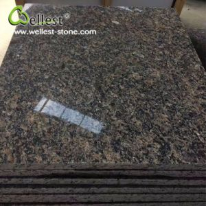Natural Stone Floor Tile Polished Royal Brown Granite with Best Price pictures & photos