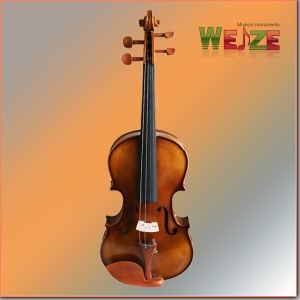 Half Matte Violin with Artificial Flame pictures & photos