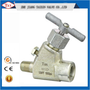 1/2′′ NPT Needle Valve with Female&Male Connection Ss316 Body