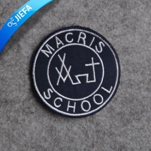 Custom Brands Uniform Badge Laser Cut for Garment pictures & photos