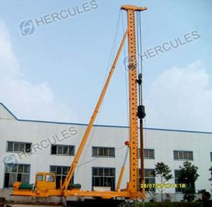 Cfa Drill and Diesel Hammer Dual-Use Pile Driver pictures & photos